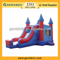 2013 promotional factory price inflatable bouncer slide
