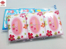 Ptissue paper packing plastic bags with handles
