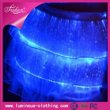 Top Fashion Female Luminous Cake Skirts For Night Club Wear Masquerade Costumes For Girls Birthday Party Led Kids Clothes Light