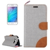 Hot Sale Color Matching Design TPU and PU Cover for Samsung Galaxy J1 Made in China