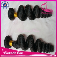 Wholesale supply unprocessed virgin hair weave cheap human hair weft brazilian hair weave