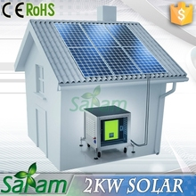 Easy installation 2kw 48v solar panel