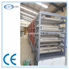 CE industrial Ling nut belt hot air dryer /drying machine/drying equipment on price