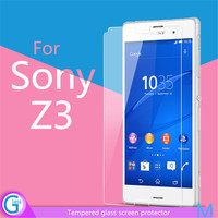 9H Tempered Glass Clear Screen Guard for Sony Xperia Z3