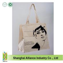 organic cotton bag standard size cotton tote bag canvas diaper bag