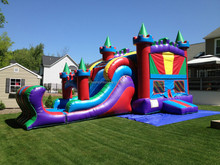 2015 Newly Inflatable Castle With Turrets/ Kids Used Inflatable Jumping Castle/ Inflatable Bouncer Castle For Sale