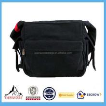 Canvas Bag Unisex Black Army Green College Messenger Bag College Sling Bags