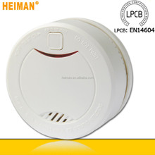 EN14604 10 years battery operated type of smoke alarm for houses