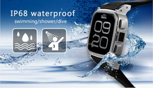 SNOPOW W1S 3G transflective screen IP68 waterproof android 4.4 dual core 1G RAM 8GROM z1 android watch phone