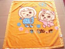 Fashion cotton terry blanket for bedspread children