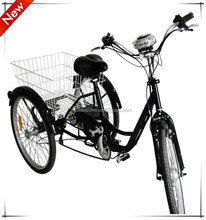 Three wheel best electric tricycle for handicapped