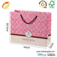 Custom Digital Full Color Shopping Tote Paper Printing Bag