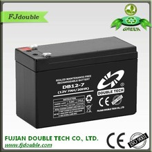 manufacture in china high quality rechargeable 12v 7ah ups battery