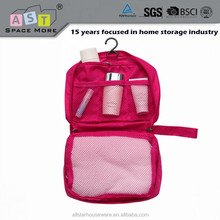 2015 New design multi-function travel cosmetic bag / hanging travel toiletry bag