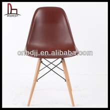 modern single wooden replica plastic bedroom chair for sale