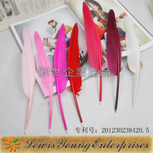 2015 China Stationery Factory Wholesale quill pen for promotions