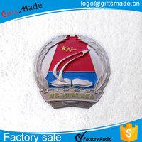 High Quality Custom metal epaulette, military uniform shoulder board, emblem badge
