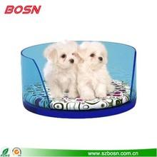 acrylic pet bed, acrylic pet supplies, acrylic pet equipment