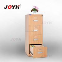 Steel 4 tier filing cabinet powder coating cabinet