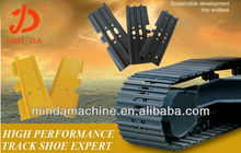 Excavadora de acero y oruga /zapatas /track pad Komatsu,Hitachi,Kobelco