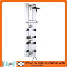 hef aprobóalumbre de aleación de panel de ducha de masaje de la columna