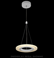 simple Acrylic pendant dinning light 1 head 3 heads 9 heads multify options