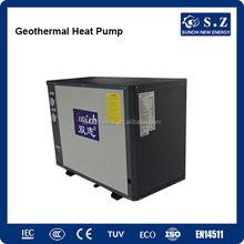 Minus 25C winter floor / radiator heating home 10Kw/15Kw/20Kw/25Kw R407C Geothermal heat recovery with heat pump heater