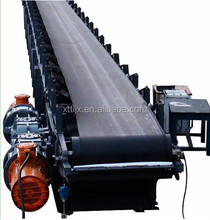 DSJ type large inclined angle corrugated sidewall belt conveyor