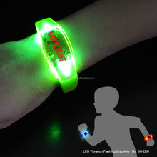 2015 promotional bright-color led active wristband
