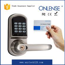 High quality digital electronic swipe card locks manufacturer since 2001