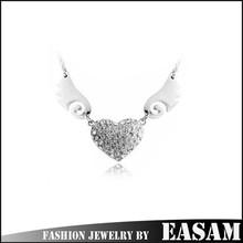 Luxury angel wing design jewelery necklace,fashion jewelery
