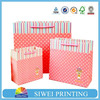 2015 Newest pure large shopping paper bag for wine