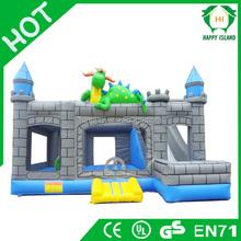HI 0.55mm PVC Tarpaulin inflatable animal bouncers , inflatable dinosaur bouncer ,inflatable jumper