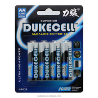 Different types of clocks using lr6 aa alkaline battery blister pack