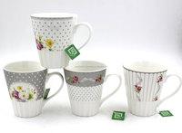 M2297 Promotional ceramic bubble tea cup