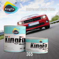 KINGFIX Brand yellow color easy spreading Filler Putty