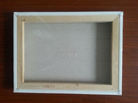 """Professional 18*24"""" 1.6*3.8cm thickness 380g canvas Pinewood Stretched Canvas(back stapled)"""