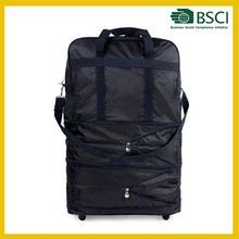 Expandable Wheeled Bags Rolling Duffel Spinner Luggage travel bag on wheels