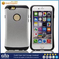 Dot design unique TPU+pc phone case For iPhone 6
