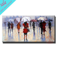 modern art acrylic canvas painting for wall decor -HF-3734332578-