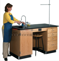 Laboratory Equipment Table Furniture Biology Laboratory Table Wood Lab Table