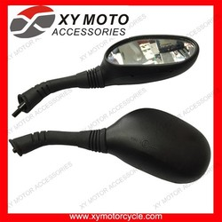 Part No.06640-KYS-T01 Side Mirrors Motorcycle Mirrors Black For Honda Fizy