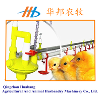 automatic nipple drinking system for poultry house/chicken farm