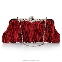 High Quality india shoes and matching beaded clutch evening bag handcee