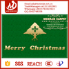 Hot Sale Decorative Printed Door Mat With Merry Christmas from China