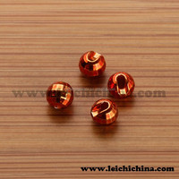 Tungsten slotted diamond faceted beads fly fishing wholesale