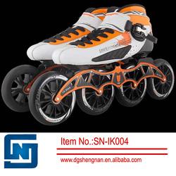 Professional speed agressive inline racing roller skate