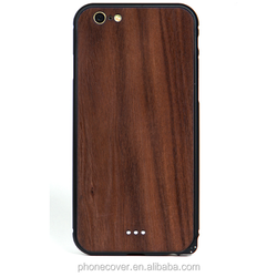 Newest Real wood Product Nature Eco-friendly Phone Case for iPhone Ultra Thin wooden and metal Cover