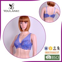 Customized Breathable Plus Size Flower 3D Mold Cup Beautiful xxx Sexy Bra Design