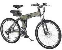 Baogl electric folding mountain bike chopper electric bicycle